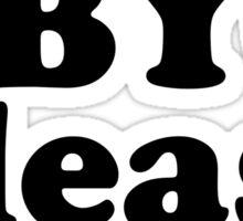 BBYO please ~ AZA & BBG Sticker