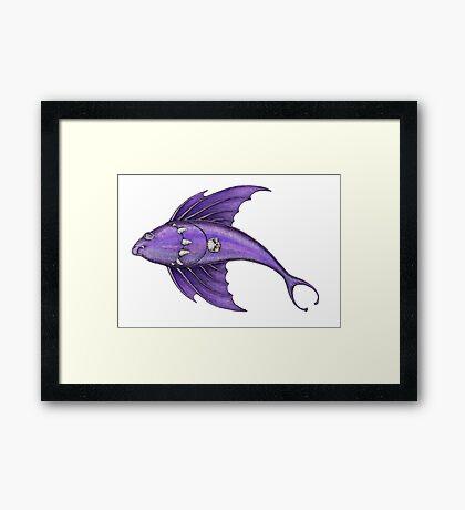 The Vampire Fish  Framed Print