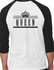 """queen """"Design Couple"""" Men's Baseball ¾ T-Shirt"""