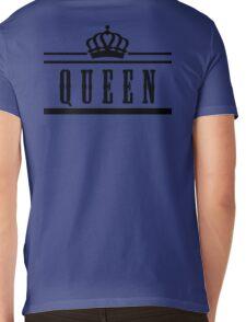 "queen ""Design Couple"" Mens V-Neck T-Shirt"