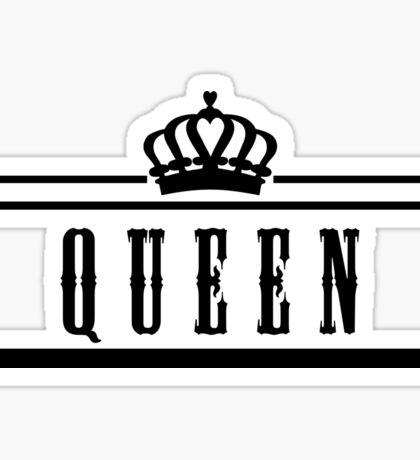 "queen ""Design Couple"" Sticker"