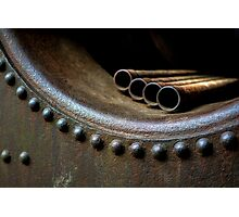 Rivets And Pipes Photographic Print