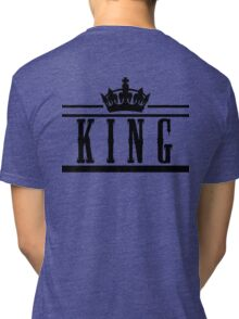 "KING ""Design Couple"" Tri-blend T-Shirt"