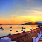 Halki Sunrise by Tom Gomez
