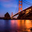 The Golden Gate Bridge by Radek Hofman