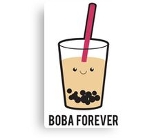 Boba Forever Canvas Print