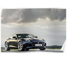 The New Jaguar F Type Coupe ... Poster