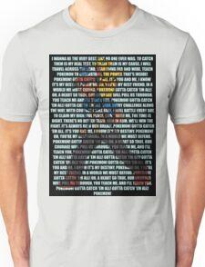 Gotta Catch 'Em All - Pokémon Unisex T-Shirt