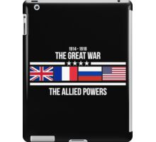 The Great War - The Allied Powers iPad Case/Skin