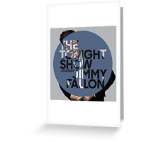 The Tonight Show Greeting Card