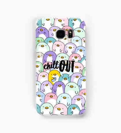 Chill Out Penguins Samsung Galaxy Case/Skin