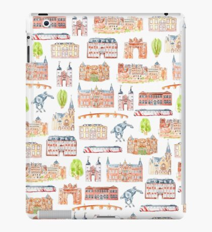 Heidelberg buildings iPad Case/Skin