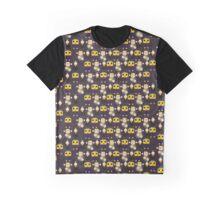Servbots, Birdbots and Data The Monkey pattern (Megaman Legends UNOFFICIAL) Graphic T-Shirt