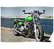 KZ 900 Voltage Green Poster