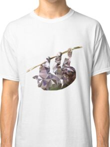 Low Poly Sloth Classic T-Shirt