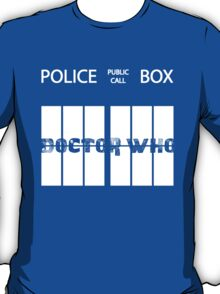 Public Call Box Window T-Shirt