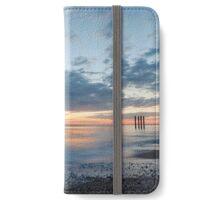 West Pier at Sunset iPhone Wallet/Case/Skin