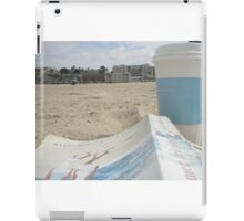 All I Need is Coffee, a Good Book and the Beach iPad Case/Skin