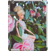 Barbie in the flowers iPad Case/Skin