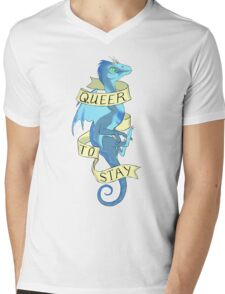 queer to stay Mens V-Neck T-Shirt