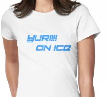 Yuri on Ice, Ice Arena Logo Womens Fitted T-Shirt