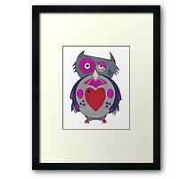 Too Wise to Care Framed Print