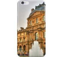I Love The Louvre iPhone Case/Skin