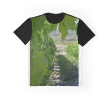 Italian Vineyard Graphic T-Shirt