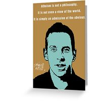 Sam Harris Greeting Card