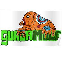 Guacamole - Mexican Pun Guaca Mole Poster