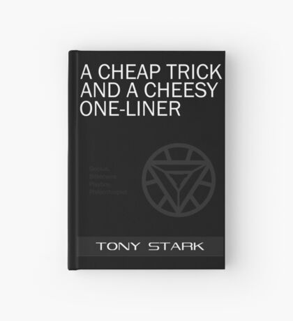 A Cheap Trick and a Cheesy One-Liner Hardcover Journal