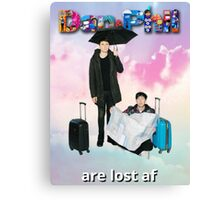 Dan and Phil Are Lost Canvas Print