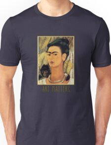 Frida Kahlo Self Portrait  Art Matters Unisex T-Shirt