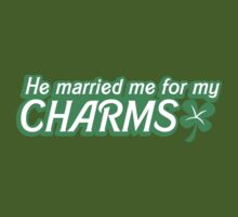 He married me for my charms Irish shamrocks by jazzydevil