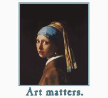 Girl with a Pearl Earring  Art Matters  by Greenbaby