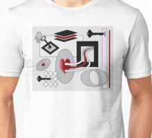 You Must Find The Right Key To Unlock Me Unisex T-Shirt