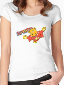 Super Ted  Women's Fitted Scoop T-Shirt