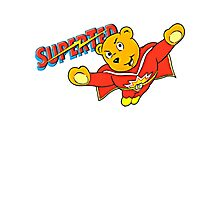 Super Ted  Photographic Print