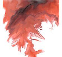 Red Tornado Photographic Print