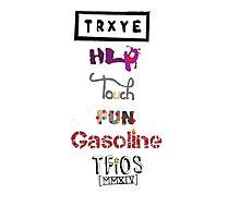TRXYE - Stylized Titles Photographic Print