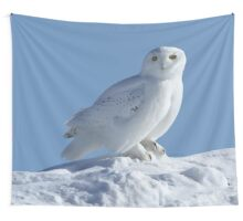 Saint Of The Snow Wall Tapestry