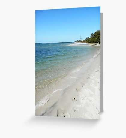 Tranquil Broadwater Greeting Card