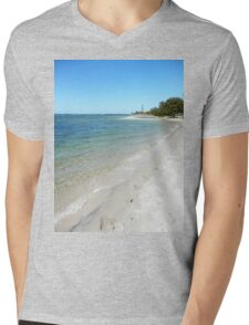 Tranquil Broadwater Mens V-Neck T-Shirt