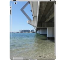 Calm Bridge Water iPad Case/Skin
