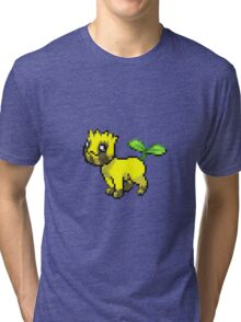 Pokemon Fusion: Vulpix and Sunkern Tri-blend T-Shirt