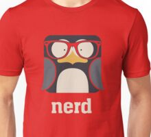 Nerd - Penguin with Geek Glasses - Funny Humor  Unisex T-Shirt