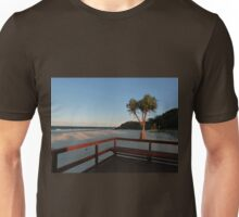 Boardwalk with a Tree with a View Unisex T-Shirt