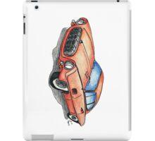 Red Classic CAR 01 iPad Case/Skin