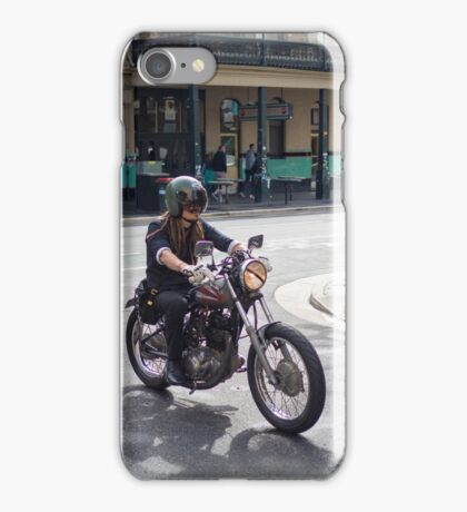 Cafe Racer in Adelaide iPhone Case/Skin