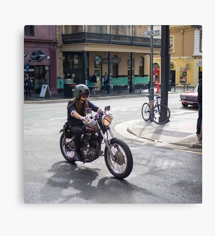 Cafe Racer in Adelaide Canvas Print